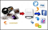 Urlaubdias digitalisieren auf DVD zum teilen in sozialen Netzwerken