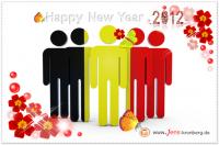 Unseren Büroservice Kunden aus Belgien alles Gute für 2012