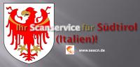 Ihr Scanservice für Südtirol (Italien)