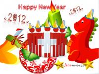 Unseren Büroservice Kunden aus der Schweiz alles Gute für 2012