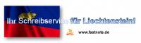 Ihr Schreibdienst für Liechtenstein