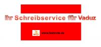 Ihr Schreibservice für Vaduz