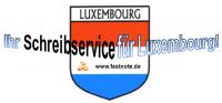 Ihr Schreibservice für Luxemburg