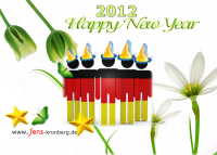 Unseren Büroservice Kunden aus Deutschland alles Gute für 2012