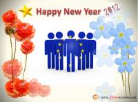 Unseren Büroservice Kunden aus Europa alles Gute für 2012