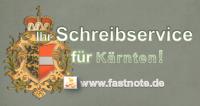 Ihr Schreibservice für Kärnten