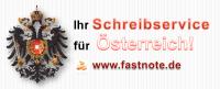 Ihr Schreibservice für Österreich