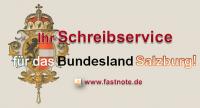 Ihr Schreibservice für das Bundesland Salzburg