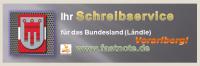 Ihr Schreibservice für das Bundesland (Ländle) Vorarlberg