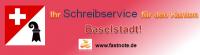Ihr Schreibservice für den Kanton Baselstadt