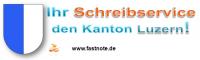 Ihr Schreibservice für den Kanton Luzern