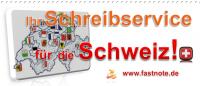 Ihr Schreibservice für die Schweiz