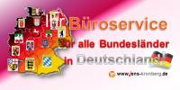 Ihr Büroservice für alle Bundesländer in Deutschland