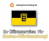Ihr Büroservice für Baden-Württemberg