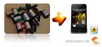 Bilder von APS-Filmen digitalisieren für iPhone