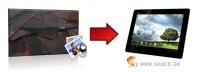 Bilder von Negativen digitalisieren für Tablet PC