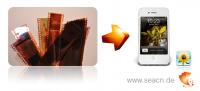 Bilder von Negativfilmen digitalisieren für iPhone