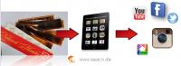 Bilder von Negativfilmstreifen einscannen für Tablet PC