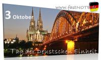 1 Tag der Deutschen Einheit 3. Oktober 2012