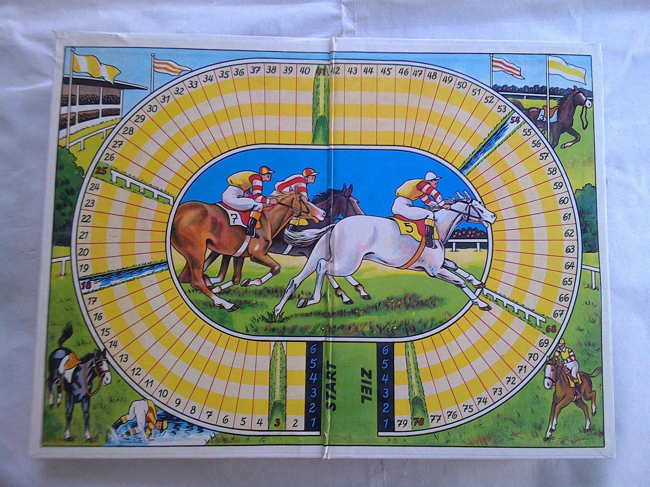 Pferderennen Spielanleitung