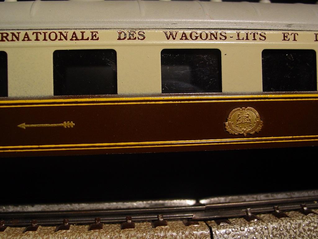Unbekannt schlafwagen der compagnie internationale des wagons lits ciwl aus blech - Compagnie des wagons lits recrutement ...