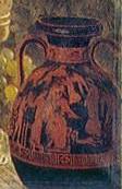 Rotschwarze Keramik