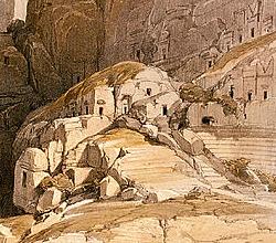 Bergsiedlung
