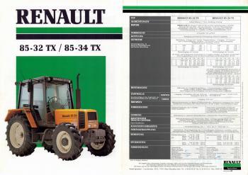 Renault 85-32 TX - 85-34 TX