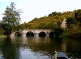 5. Werra - Alte Creuzburger Brücke  - Okt. 2013.JPG