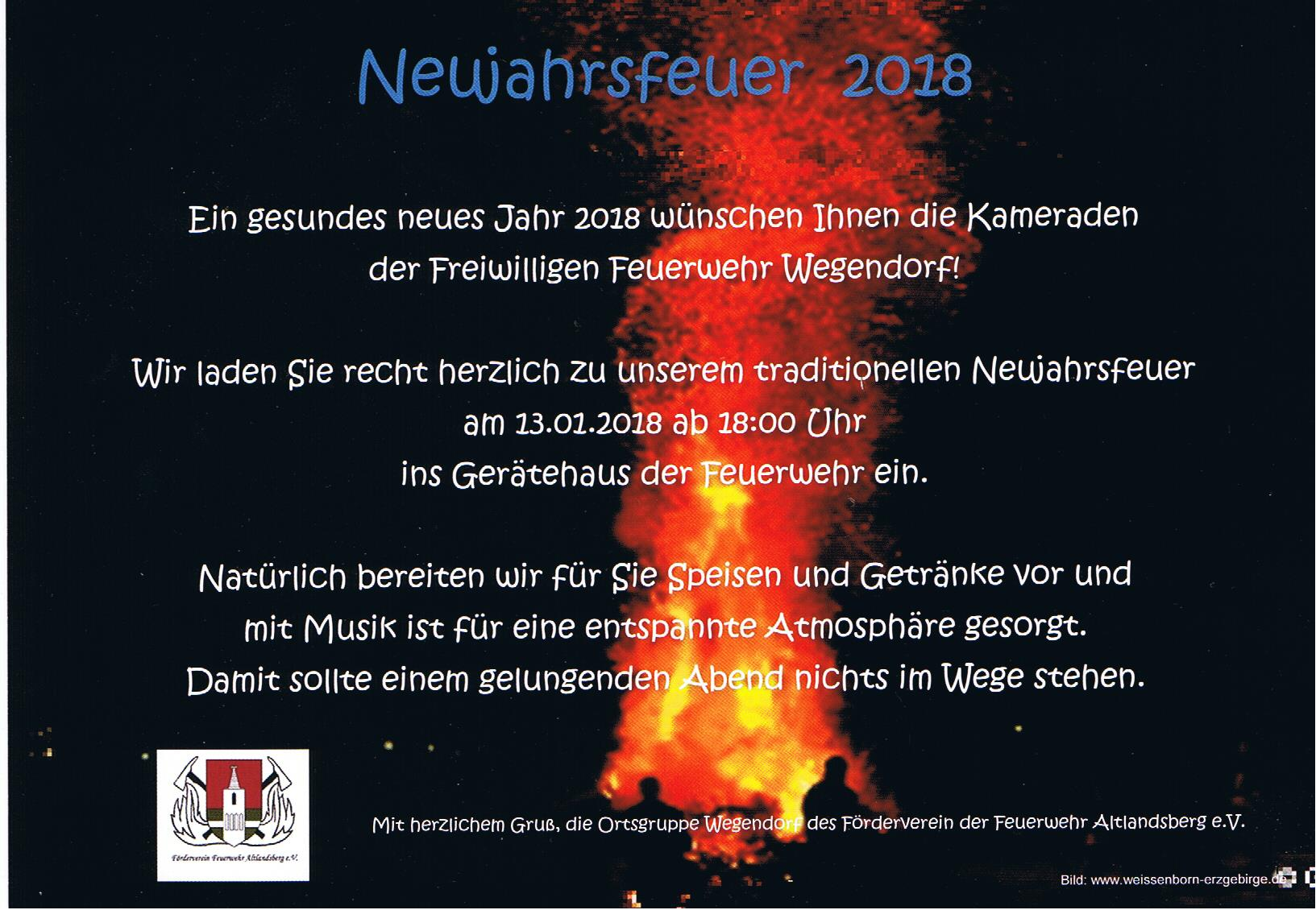 Neujahrsfeier