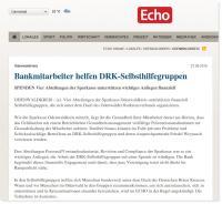 Sparkassenmitarbeiter unterstützen Arbeit der DRK Selbsthilfegruppen2