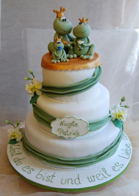 Rosenranken Hochzeitstorte grün by suess-und-salzig, via Flickr ...