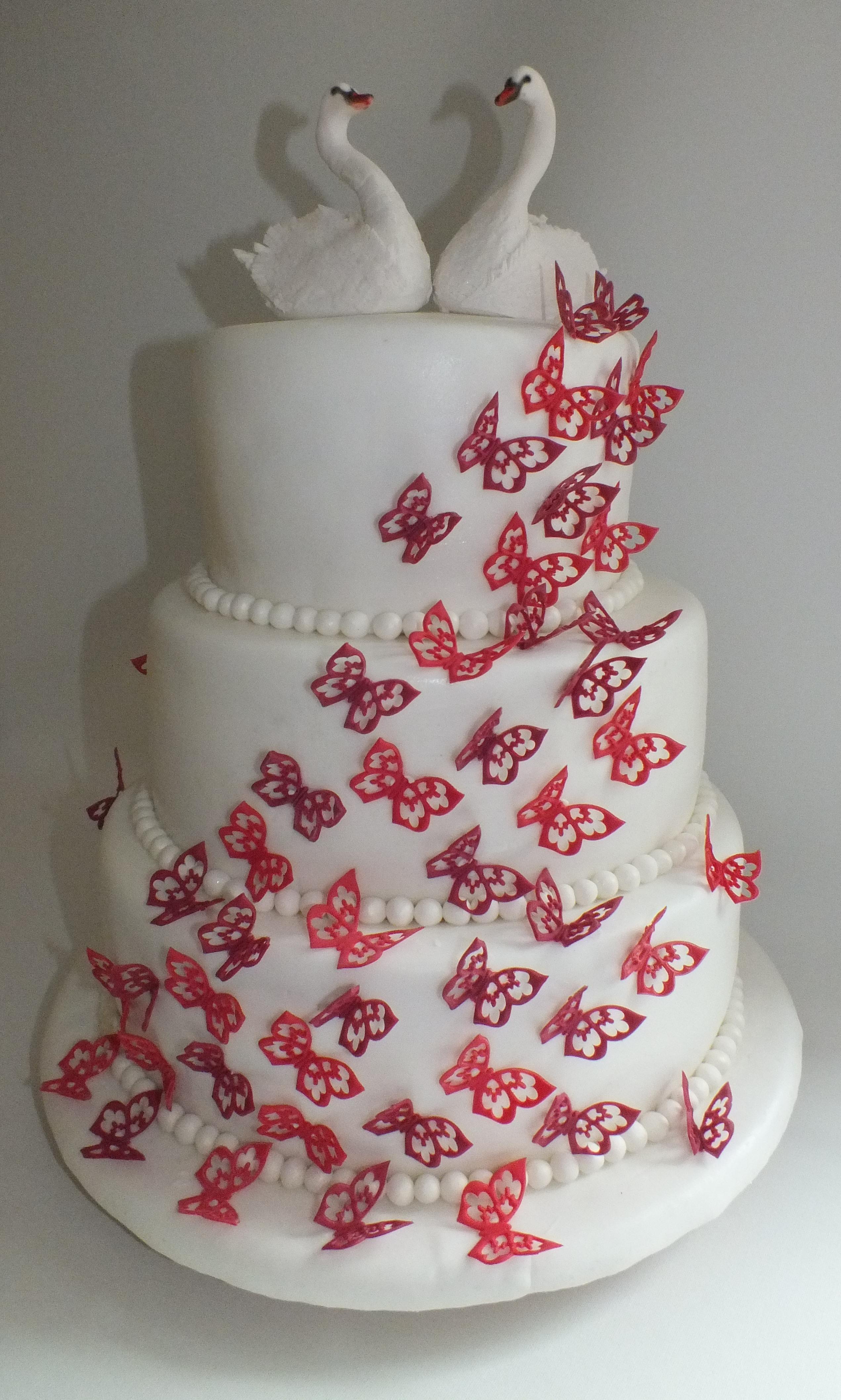 Pin Schmetterling Hochzeitstorten on Pinterest