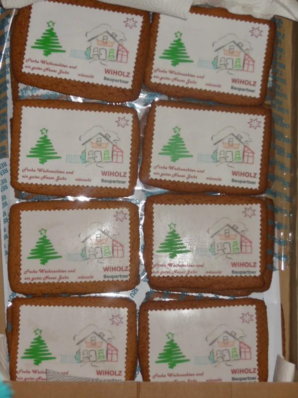 Essbare weihnachtskarten mit firmenlogo die man im for Weihnachtskarten mit firmenlogo