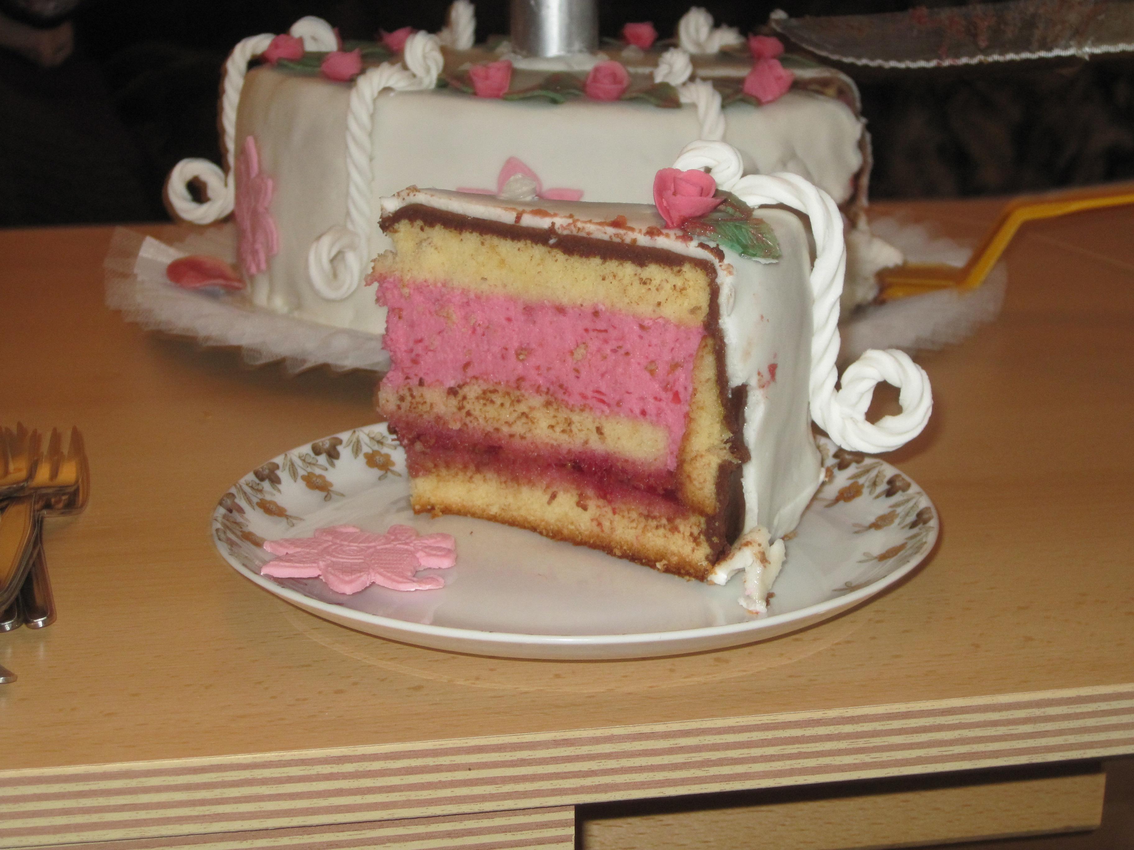 ... Anlässe 1. » Doppelstöckige Torte zur Diamantenen Hochzeit