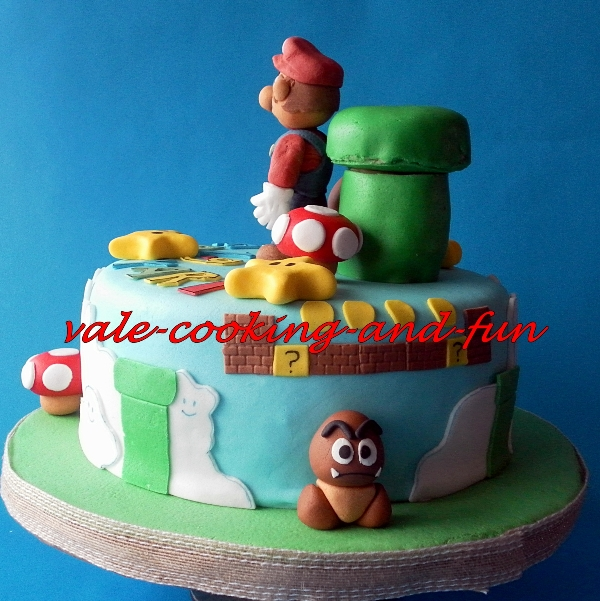 geburtstag erwachsene super mario torte f r yari. Black Bedroom Furniture Sets. Home Design Ideas