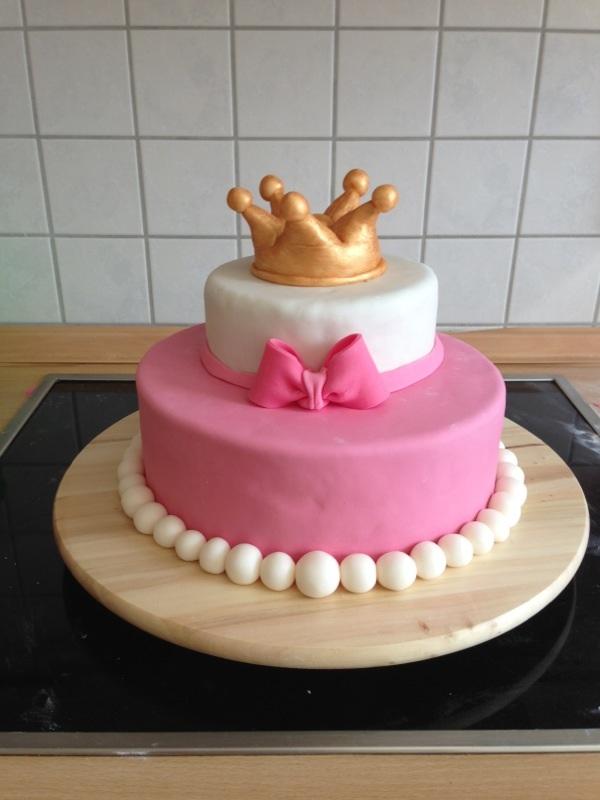 Geburtstag-Erwachsene » Prinzessinnen Torte für eine Freundin