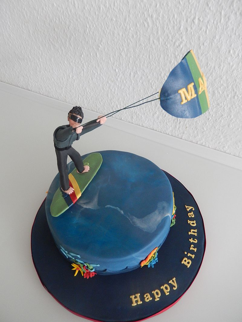 Geburtstag Erwachsene 187 Kitesurfer