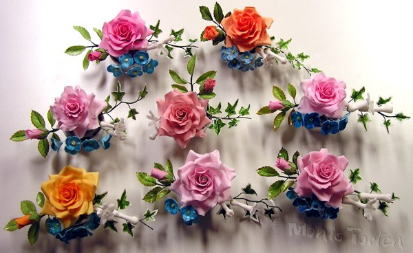 Rosengestecke - eins schöner als das andere.... | Motivtorten Fotos ...