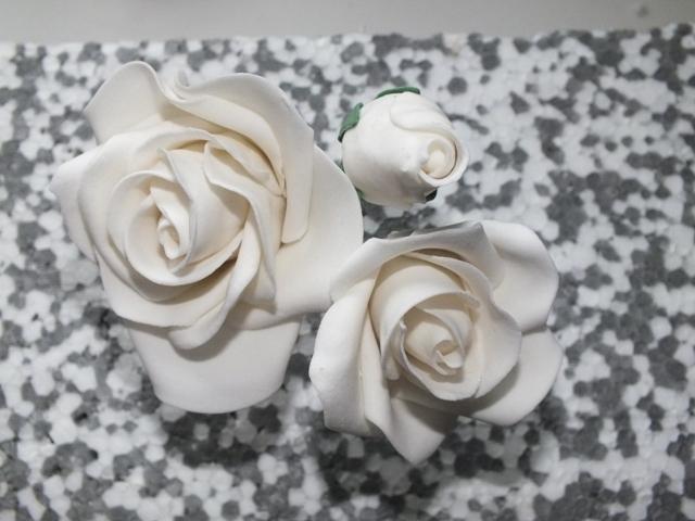 zucker kunstwerke meine ersten rosen. Black Bedroom Furniture Sets. Home Design Ideas