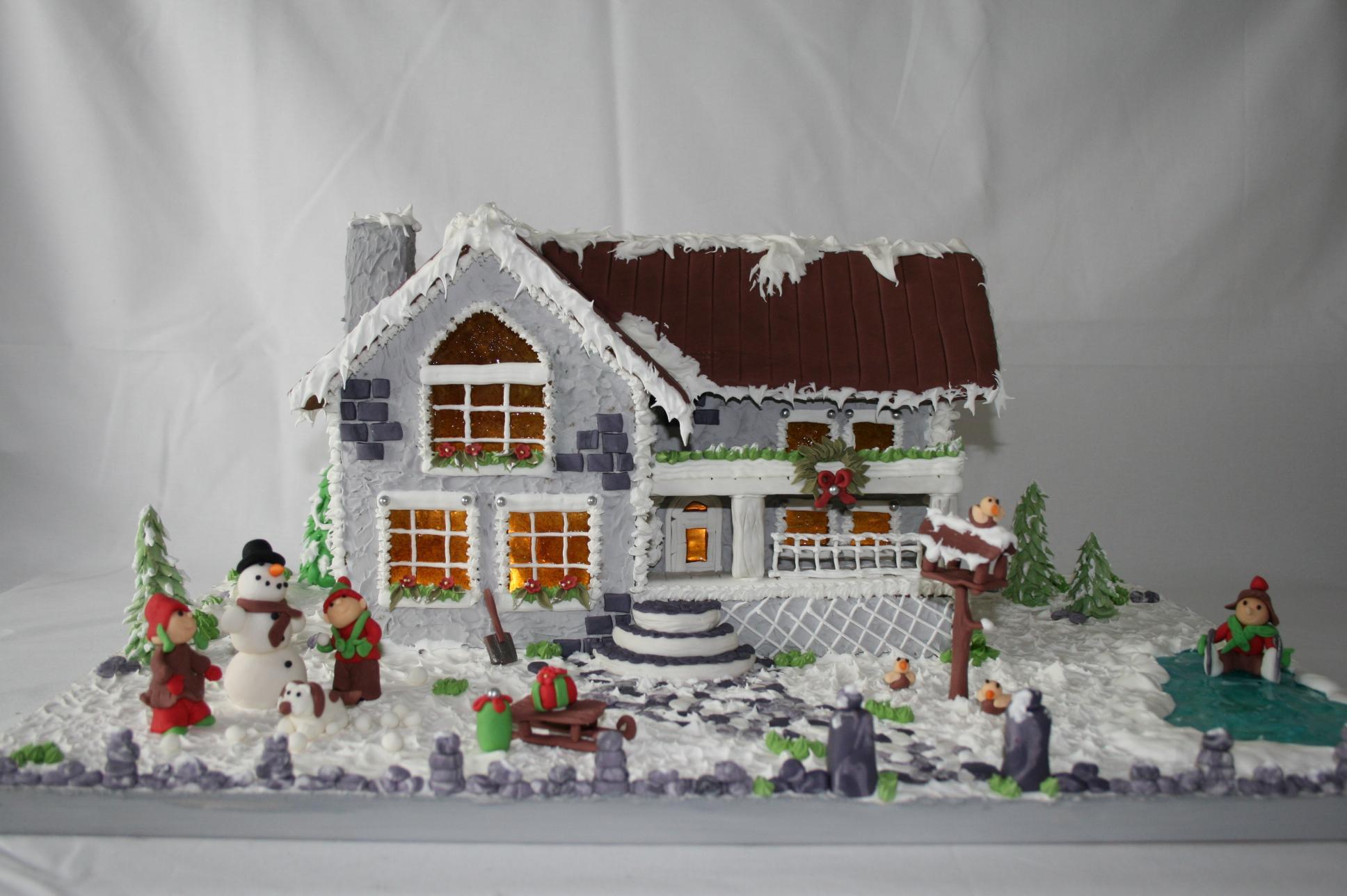 feiertage mein englisches lebkuchen cottage. Black Bedroom Furniture Sets. Home Design Ideas
