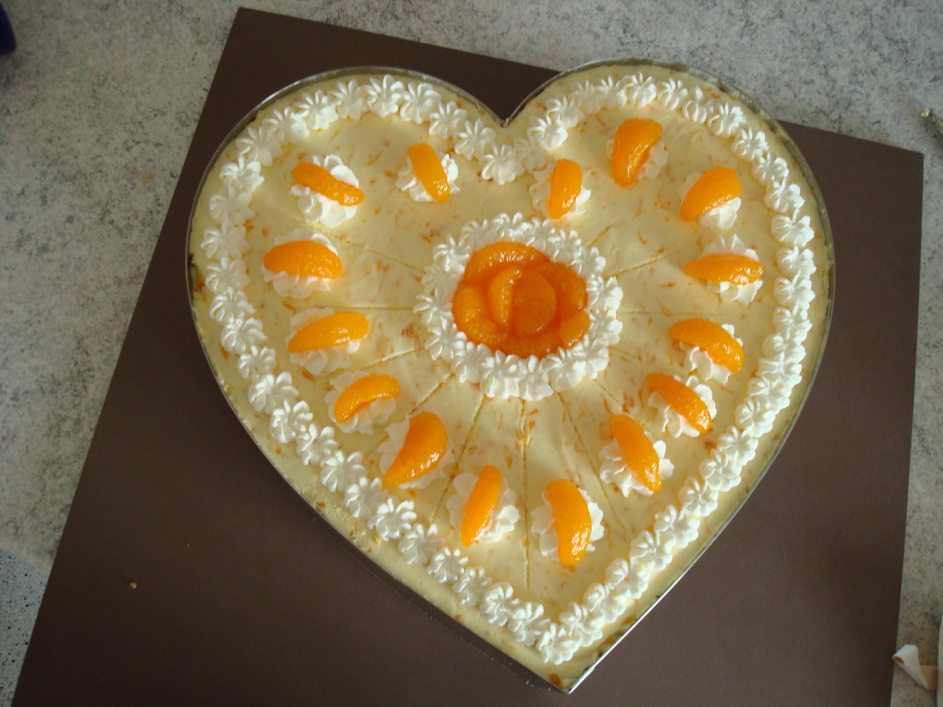 besondere anl sse 2 frischk se mandarinen torte. Black Bedroom Furniture Sets. Home Design Ideas