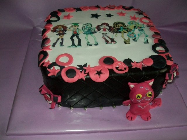 monster high torte bestellen