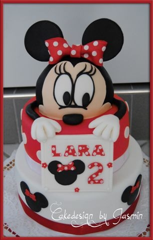 geburtstag kinder minnie mouse cake bei 40grad. Black Bedroom Furniture Sets. Home Design Ideas