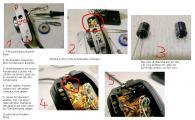 Minolta X-300 X-500 Kondensator erneuern.jpg