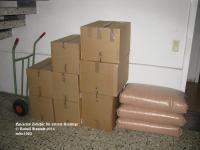 Lieferung Töpfe und Kieselgur