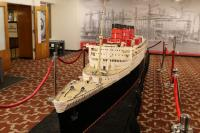 Lego - Modell der RMS  Queen Mary
