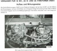 Zenith 35-40 INAT Vergaser