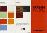 Commodore Farben Polster_Ausgabe Juli 1976_Seite1_klein