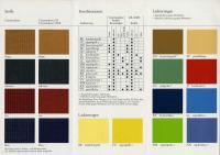 Commodore Farben Polster_Ausgabe Juli 1976_Seite2_klein